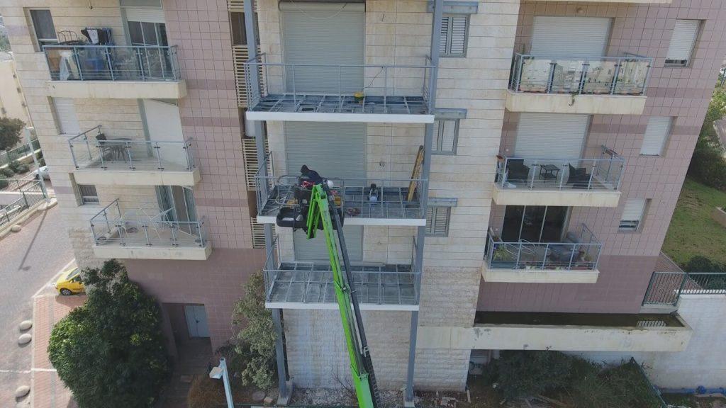 הוספת מרפסות