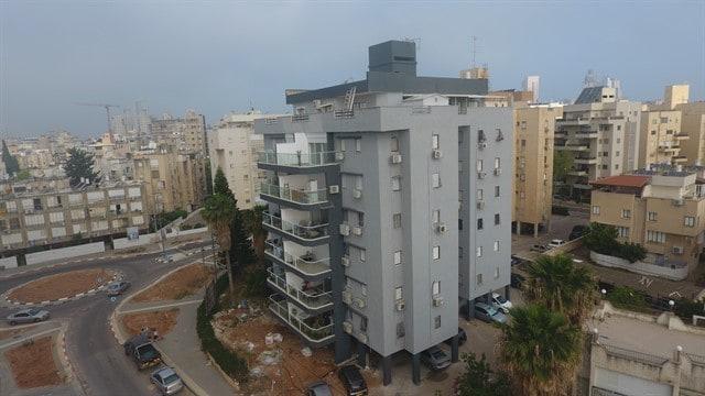 שיפוץ בניין ישן בתל אביב